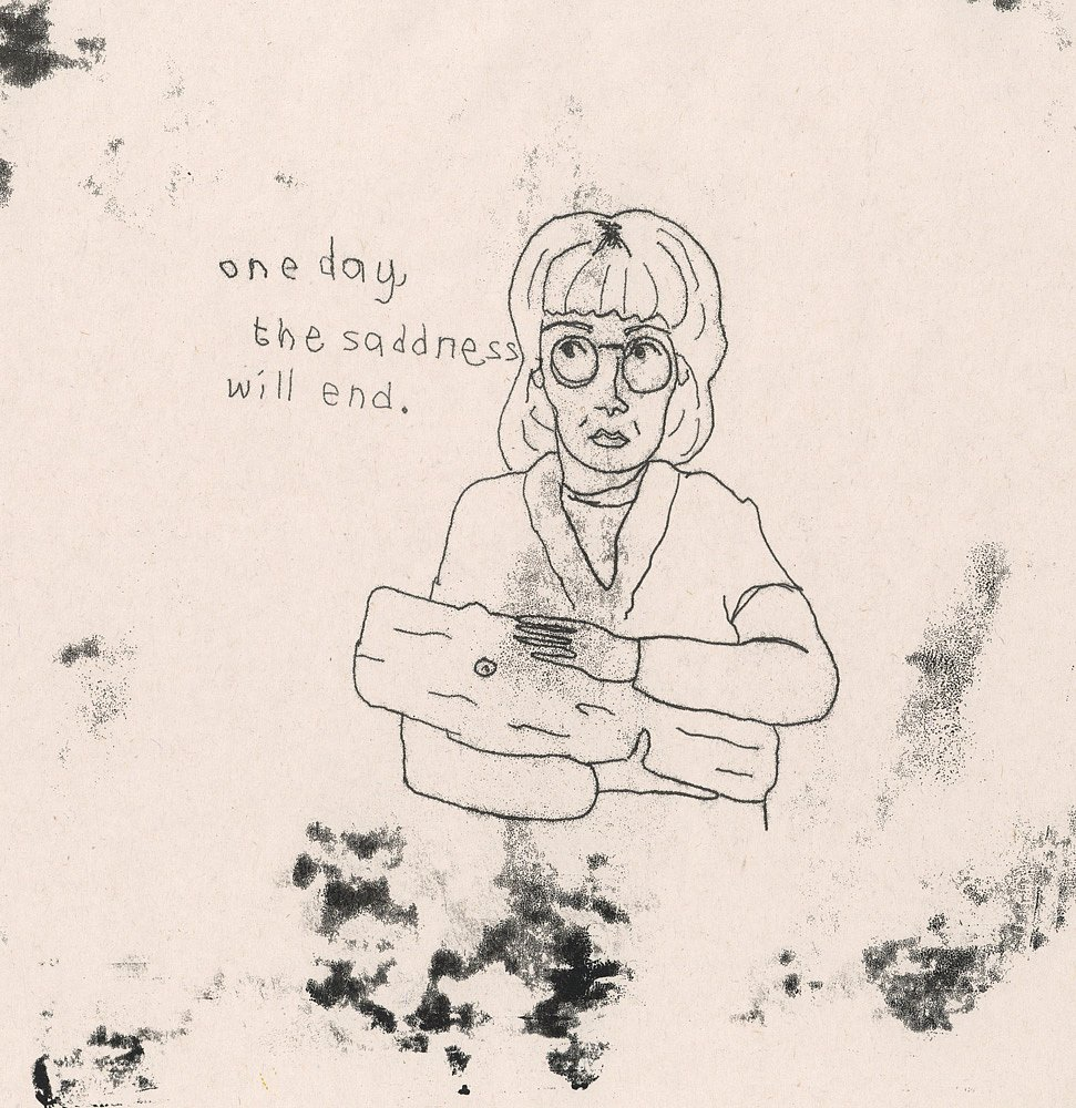 Log Lady monoprint