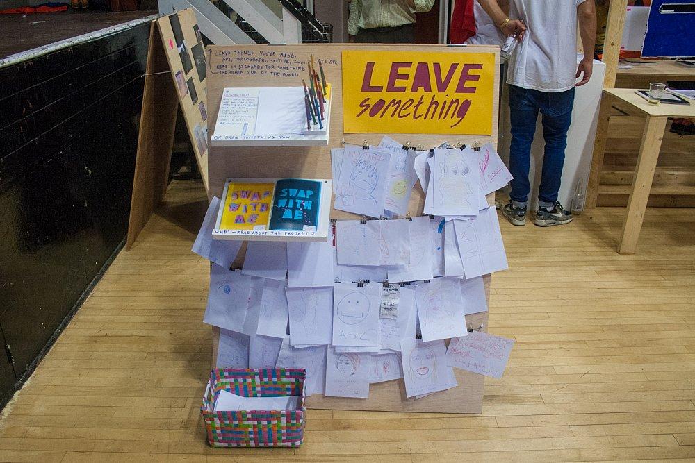 leave something / London