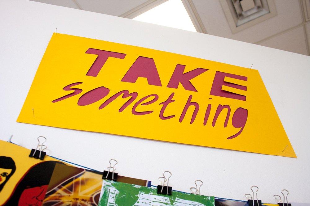 take something / Brighton