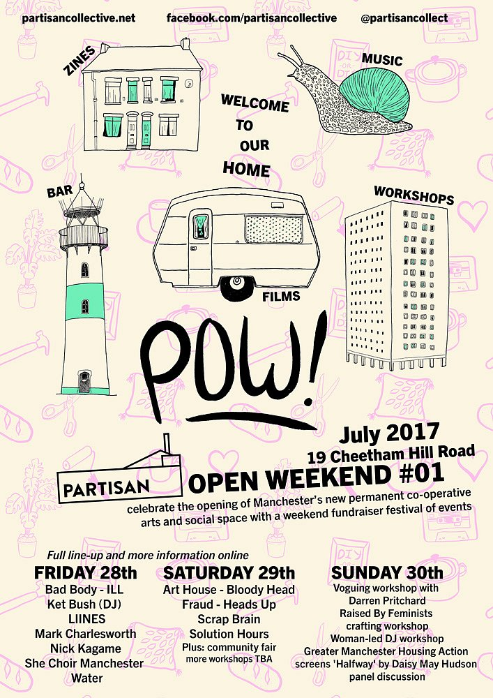 Parisan Open Weekend